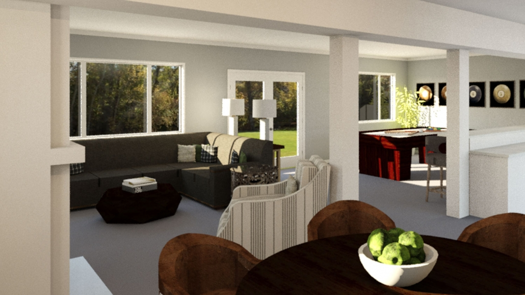 Example Rendering from At Home & Co.