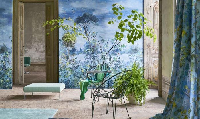 Mural wallpaper Photo: Schumacher